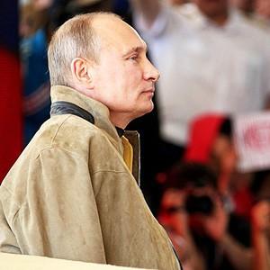 Президент В. Путин на Селигере-2013