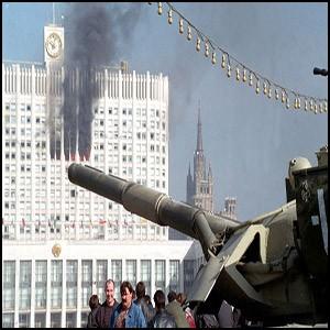 Сионистская мафия в 1993 уничтожила Парламент и убила тысячи людей