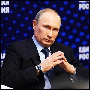 Владимир Путин встретился с активистами Единой России