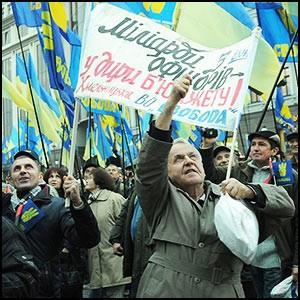 Украинская власть, купленная сионистами, изо всех сил разжигает русофобию