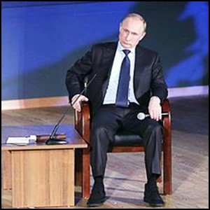 Президент Путин встретился со студентами юридических ВУЗов Москвы