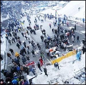 В Киеве боевики резко накалили ситуацию