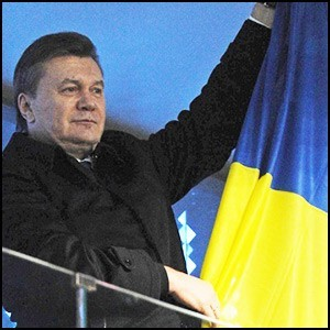 Провокация против Президента Януковича во время трансляции открытия Олимпиады
