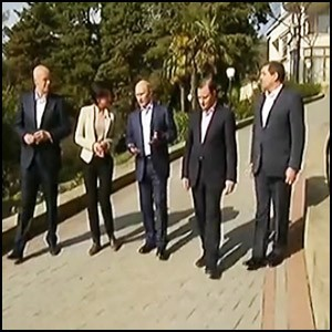 Президент России Владимир Путин ответил на вопросы российских журналистов