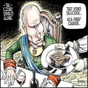 Западные СМИ делают из Путина настоящего монстра