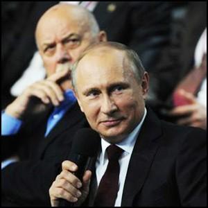 Президент Владимир Путин на Медиафоруме независимых региональных и местных СМИ