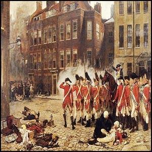 Первая оранжевая революция была проведена чёрными масонами в Англии в 1780 году