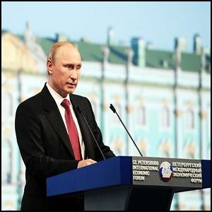 Президент Владимир Путин строит на планете Новый Мир