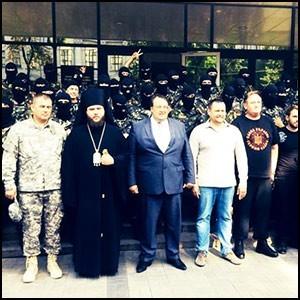 Рейдерский захват Украины сионистской бандой