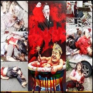 Украина: война абсурда – циничный геноцид сионистами русского населения