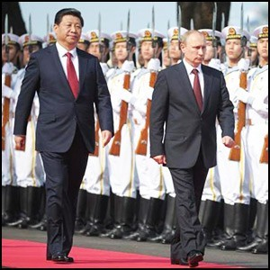 Военный аспект сближения России и Китая