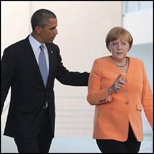Англосаксы вновь подталкивают Германию к «русским граблям»