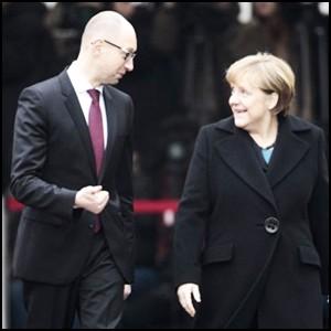 Угодливая болтовня Яценюка в Германии и наша школьная история