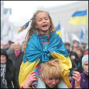 Укро-евреи с западной Украины ведут себя как полные… дети