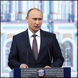 Выступление Владимира Путина на XIX ПМЭФ