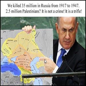 Израиль – палач Украины, России и остальных народов планеты
