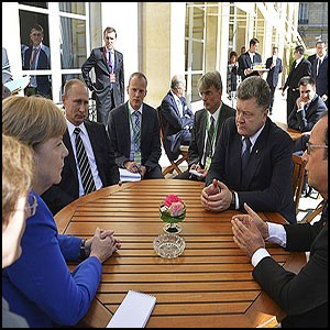 Дипломатические манёвры вокруг Донбасса