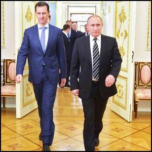 Башар Асад внезапно посетил Москву
