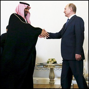 Что толкает саудовцев в сторону России?