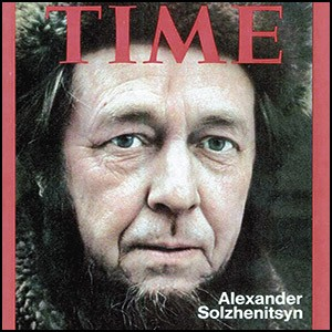 Кумир либералов – предатель Солженицын