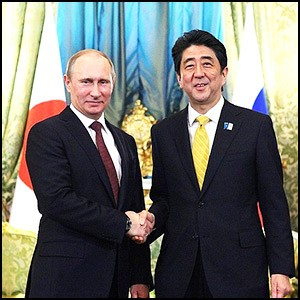 Владимир Путин успешно провёл переговоры в Японии
