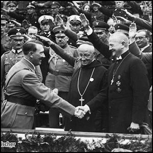 Церковь дружила с фашистами в Европе