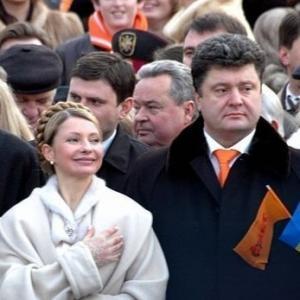 Рокировка Порошенко на Тимошенко и мат