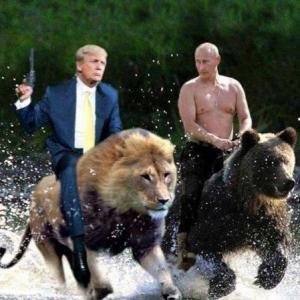 Геополитические цели и интересы России и США вполне могут совпасть в данный момент