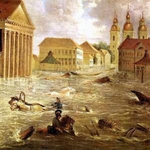 Всемирный потоп был совсем недавно, его следы остались в старинной русской литературе