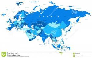 Европу найти на карте Мира можно, а Латвию – с большим трудом
