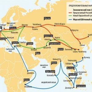 Новый путь через Россию будет Шёлковым?