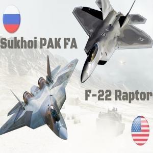 Су-57 против F-22 и F-35: проблемы и перспективы военной авиации