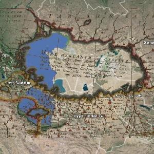 Каспий – артефакт недавнего катаклизма