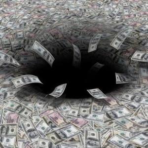 Гравитационные волны и чёрные дыры – аномальные источники денег
