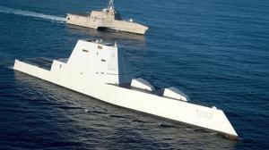 ВМС США несут небоевые потери. Минус суперэсминц Zumwalt