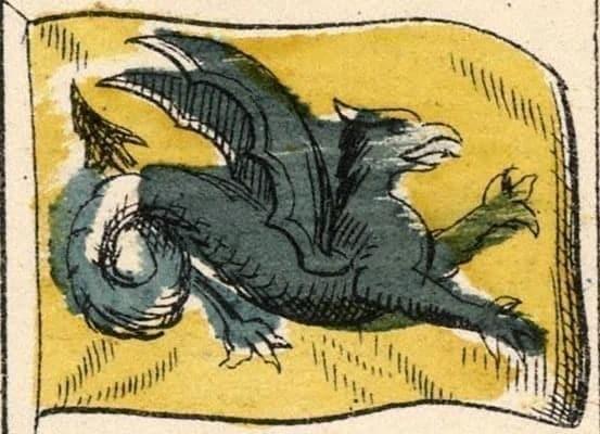 Символы Великой Тартарии: Дракон