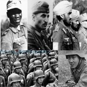 Негры, семиты, индусы и китайцы на службе Третьего рейха