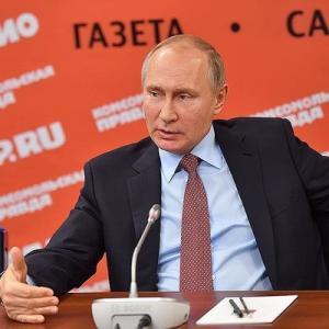 Интервью Путина руководителям СМИ