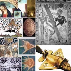 Древние летательные аппараты и технологии