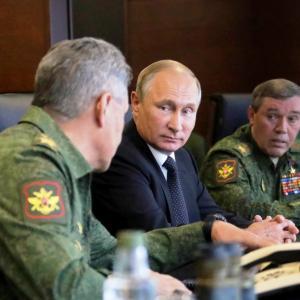 Россия начинает репетицию III Мировой