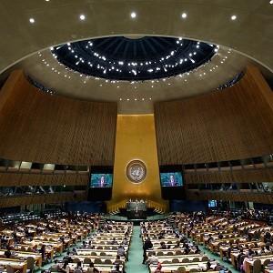 В ООН Сергей Лавров представил пост-западную карту мира