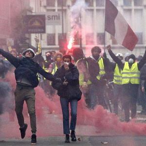 Протесты во Франции – путь к Халифату