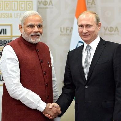 Путин начинает бить Трампа в Индии