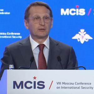 Глава русской разведки Сергей Нарышкин высказал ультиматум Западу во главе с США