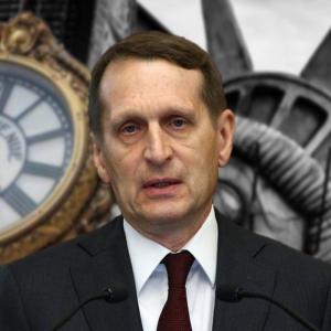 Нарышкин зачитал приговор западным бесам