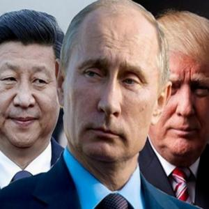 Кто начал войну сразу с РФ, США и Китаем?