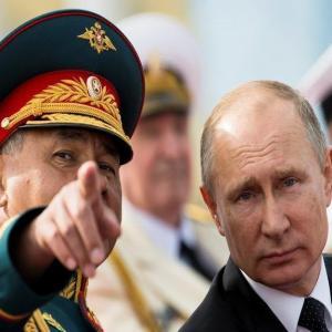 Путин и Шойгу впервые отрезвили банду западных уголовников русофобов