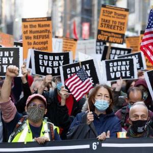 Выборы в США как промежуточный финиш краха Америки
