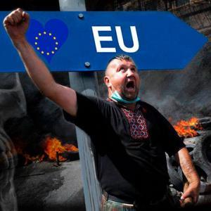 На Украине «светлой европейской сказке» приходит конец, причём страшный