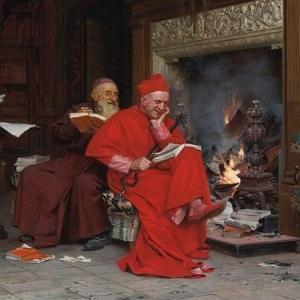 Уничтожение древней письменности через сжигания древних библиотек